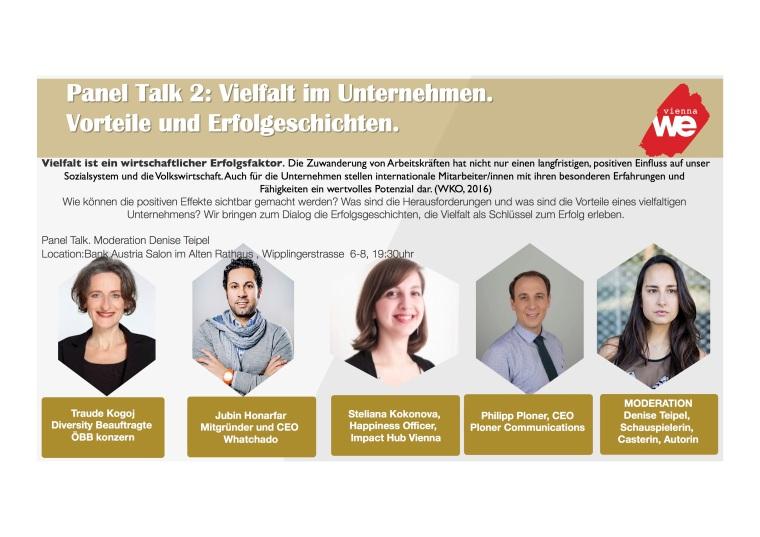 Panel Talk Vielfalt in Unternehmen